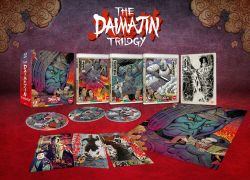 Arrow Announces THE DAIMAJIN TRILOGY Limited Edition Blu-ray Set